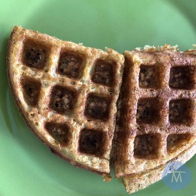 Receta de waffles para un desayuno delicioso y fácil