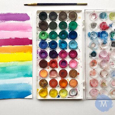 Tips para aprender a pintar con acuarela