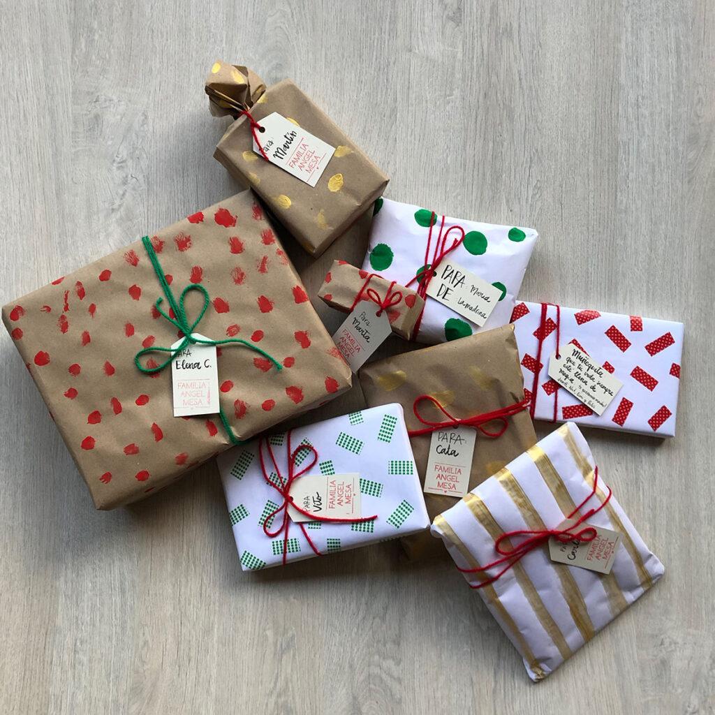 Ideas para empaques de regalos de navidad