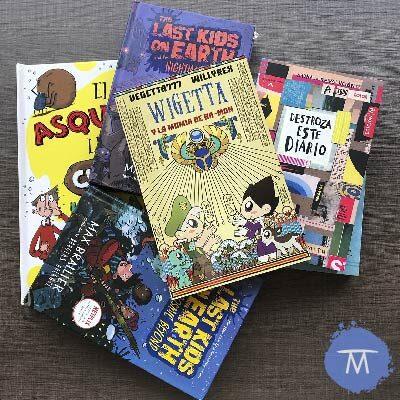 Libros recomendados para un niño de 8 o 9 años